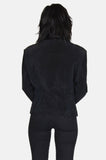 City Night Satin Suede Leather Jacket - One More Chance - 6