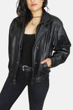 One More Chance Vintage - Vintage Wilson's Heavy Leather Biker Jacket