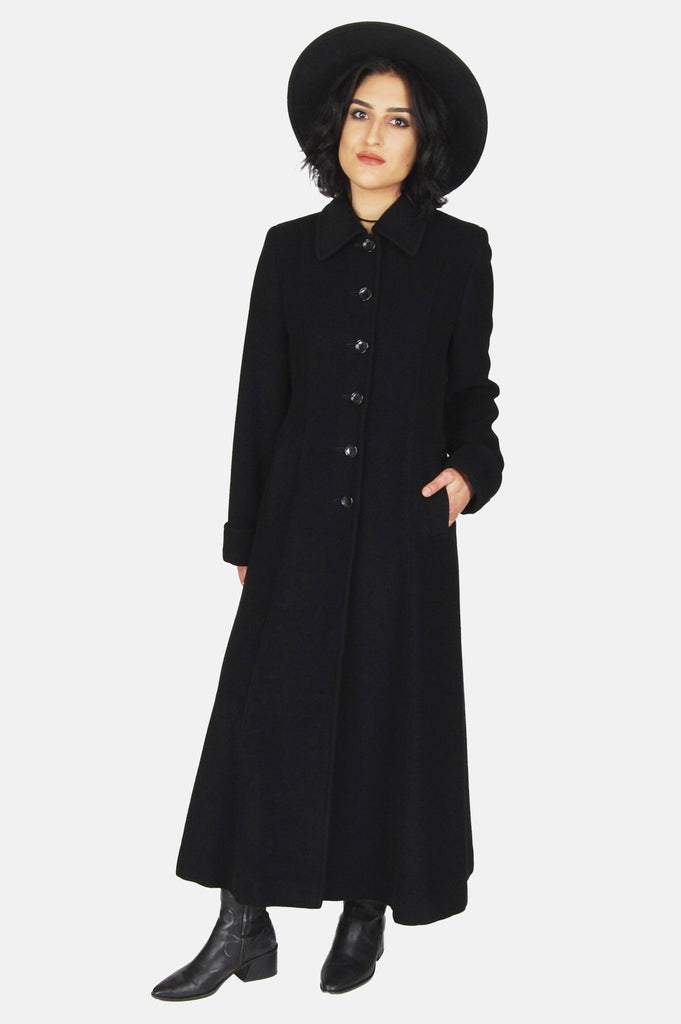 One More Chance Vintage - Vintage Because The Night Wool Princess Coat