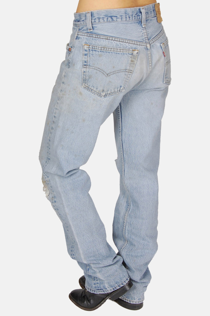 One More Chance Vintage - Vintage Hitchhiker Levi Denim Boyfriend Jeans