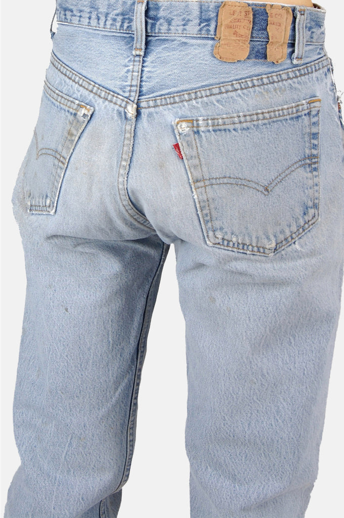 One More Chance Boutique - Vintage Hitchhiker Levi Denim Boyfriend Jeans