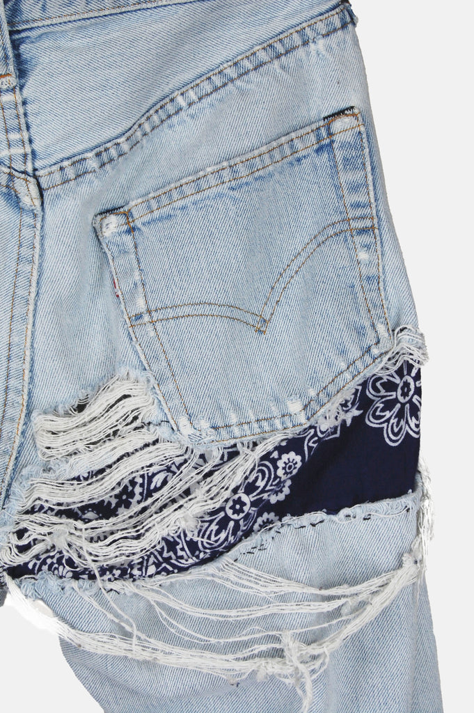 Easy Livin' Patched Levi Denim Boyfriend Jeans - One More Chance - 1