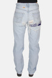 Easy Livin' Patched Levi Denim Boyfriend Jeans - One More Chance - 4