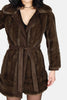Nancy London Leathers Faux Fur Wrap Jacket - One More Chance - 3