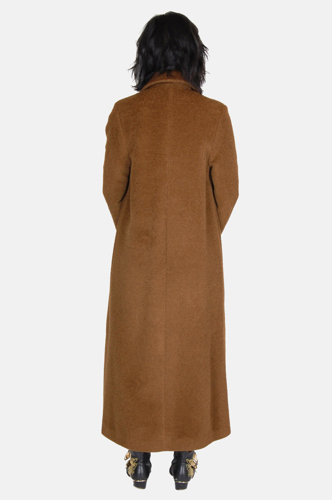 One More Chance Vintage - Vintage Golden Years Longline Wool Coat