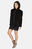 One More Chance Vintage - Vintage Factory Girl Mink Fur Jacket