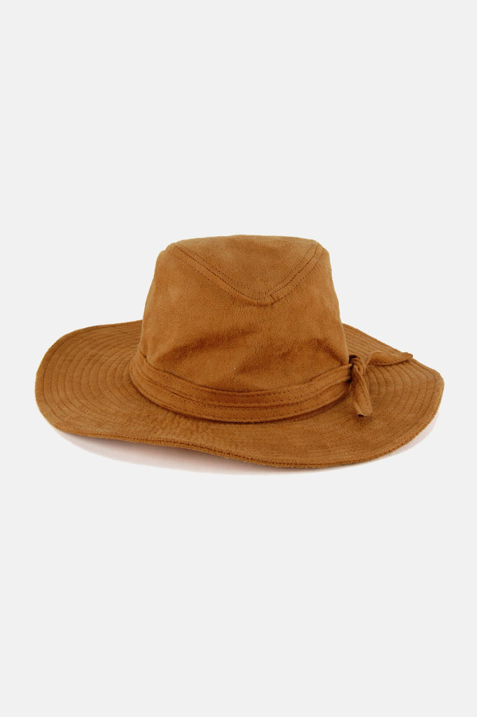 It Ain't Easy Suede Hat - One More Chance - 1