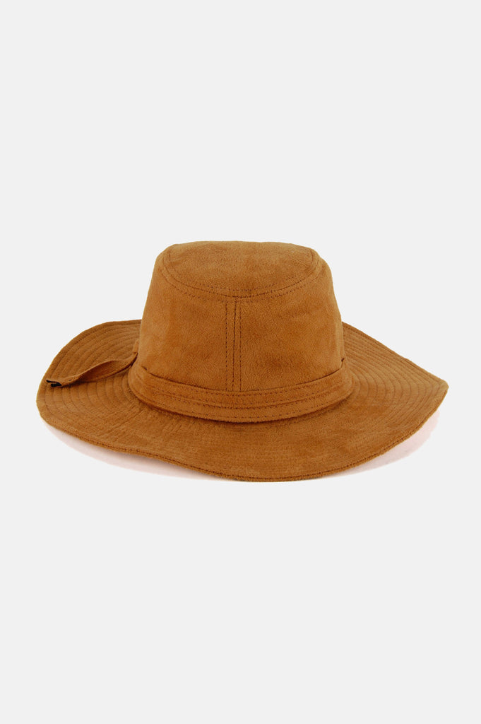 It Ain't Easy Suede Hat - One More Chance - 4