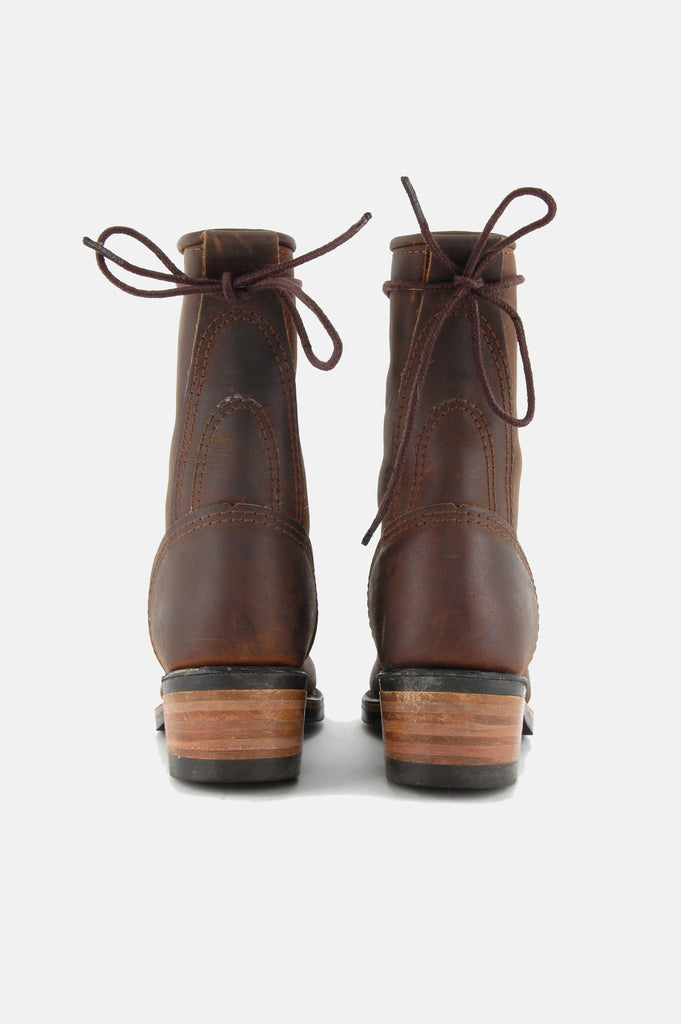 Durango Lace Up Leather Logger Boots