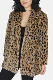 True Romance Leopard Faux Fur Jacket