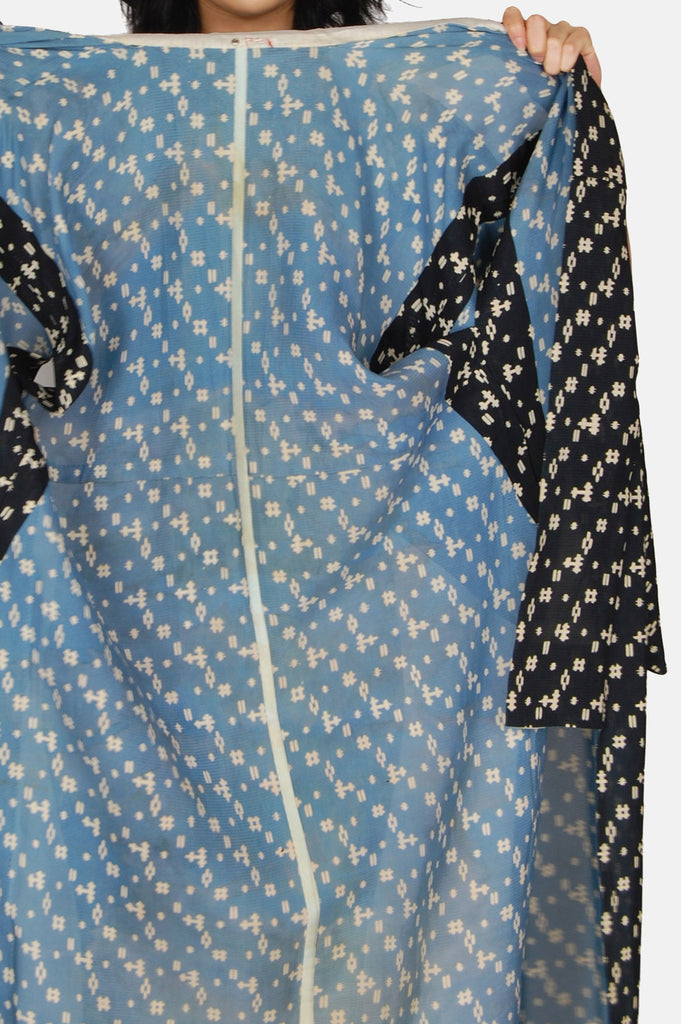 One More Chance Boutique - Vintage Authentic Japanese Geometric Kimono