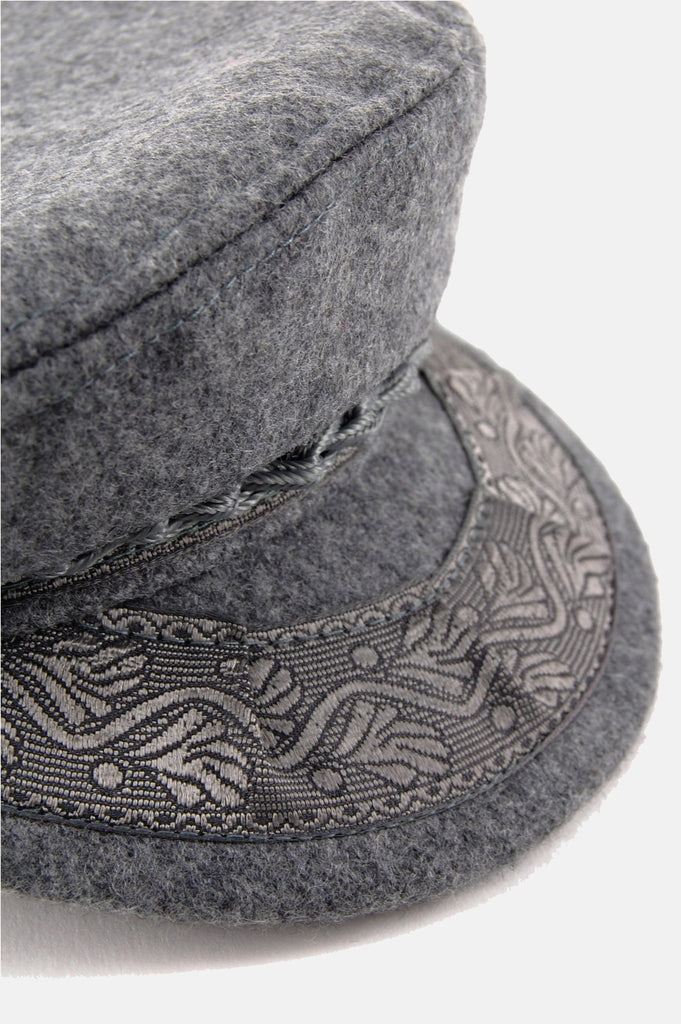One More Chance Vintage - Vintage Grey Days Greek Fisherman's Cap