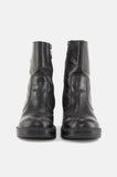 One More Chance Vintage - Vintage Harley Davidson Chunky Leather Ankle Boots