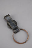 Harley Davidson Rusted Distressed Leather Keychain