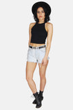 One More Chance Vintage - Vintage Summertime Blues Levi Denim Cutoff Shorts