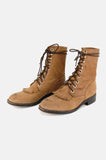 Dan Post Leather Lace Up Justin Boots - One More Chance - 4