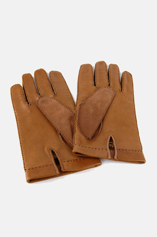 One More Chance Vintage - Vintage French Girl Suede Leather Gloves
