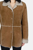 Country Girl Sherpa Suede Leather Jacket - One More Chance - 3