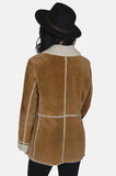 Country Girl Sherpa Suede Leather Jacket - One More Chance - 4