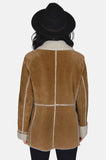 Country Girl Sherpa Suede Leather Jacket - One More Chance - 5