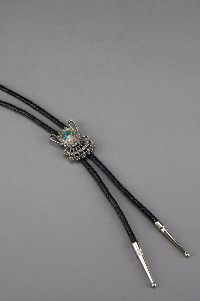I've Got The Blues Kachina Bolo Tie Necklace