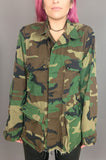 Punk Rock Lies Running Free Army Studded Camo Jacket - One More Chance Vintage