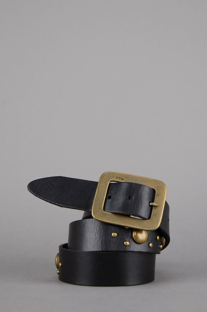Ride Free Ralph Lauren Studded Leather Belt