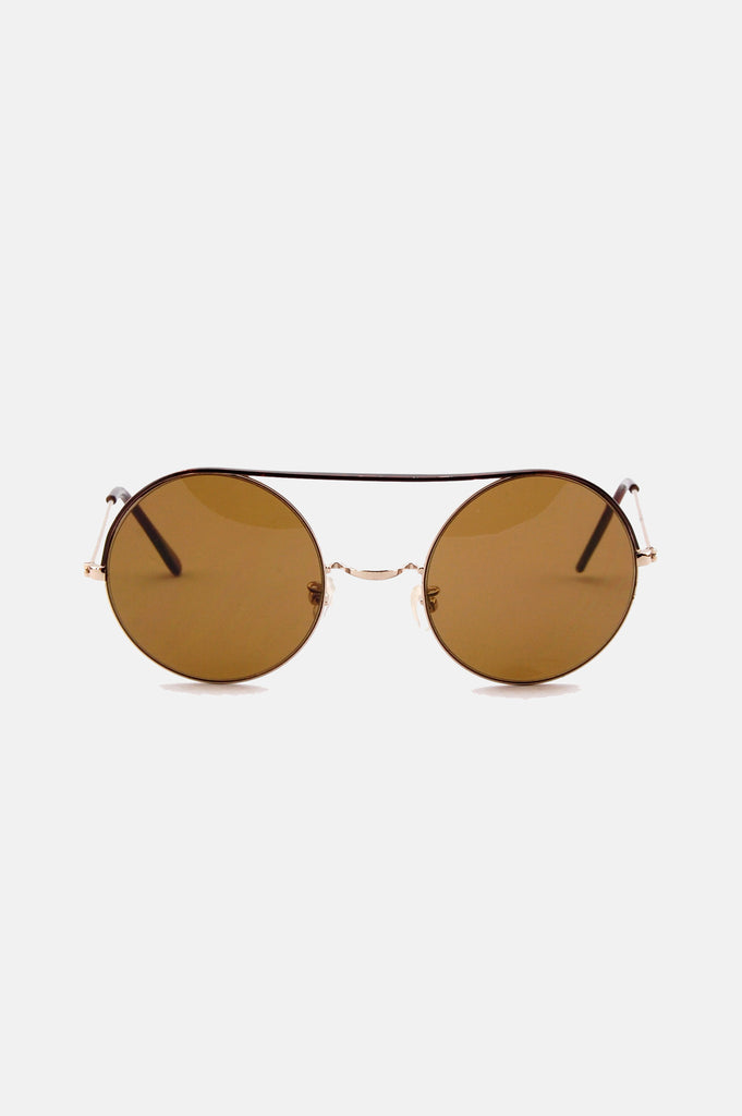 One More Chance Boutique - Vintage Lennon Circle Sunglasses