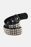The Rocker Punk Studded Leather Belt