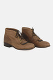 Walk With Me Leather Ankle Justin Boots - One More Chance - 2