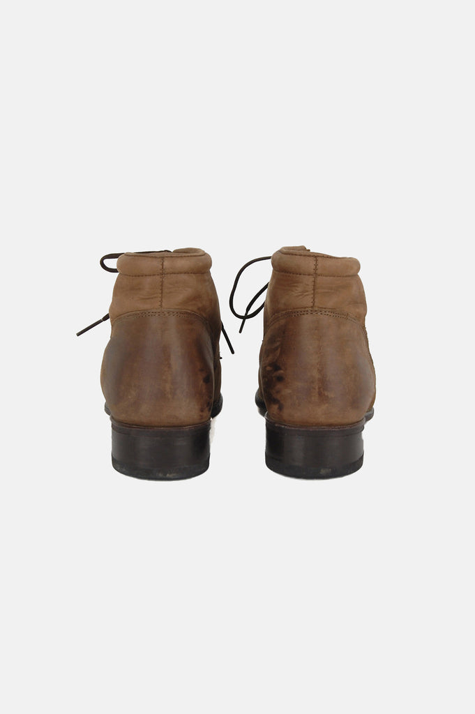 Walk With Me Leather Ankle Justin Boots - One More Chance - 5