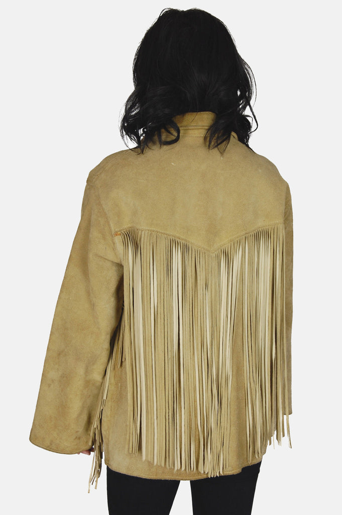 Easy Rider Fringe Suede Leather Jacket - One More Chance - 4