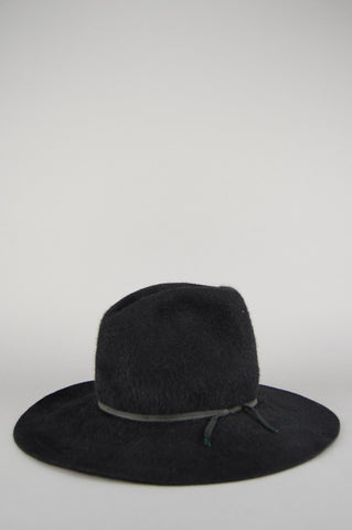 Vintage American Hat Co Black Mohair Felt Western Cowboy Hat - One More Chance Vintage