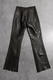 Roxstream LA Custom Heavy Leather Biker Pants - Size 25 - One More Chance Vintage