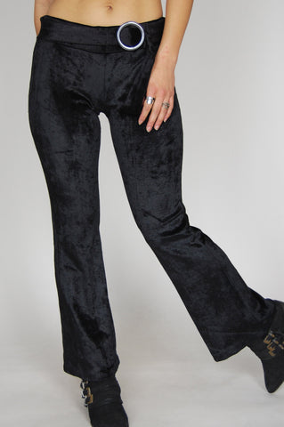 One More Chance Vintage - Vintage Janis Velvet Flare Bell Bottom Pants
