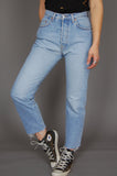 One More Chance Vintage - Vintage Big Star High Waisted Denim Boyfriend Jeans
