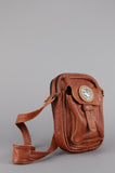 One More Chance Vintage - Vintage Good Rockin' Concho Leather Bag