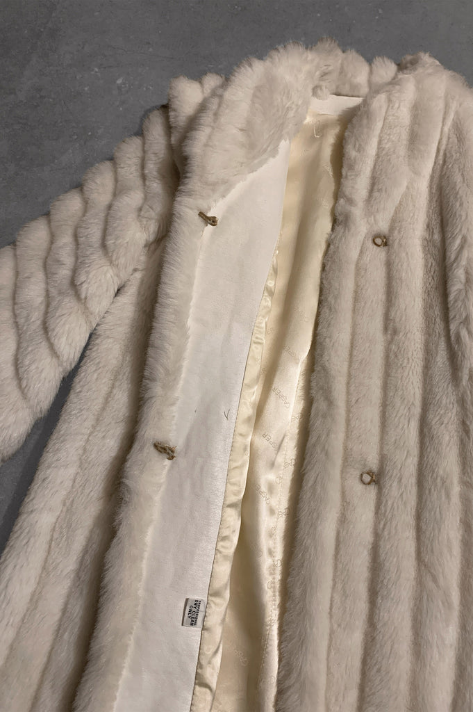 Sweet Dream Casper Faux Fur Mink Jacket - One More Chance Vintage
