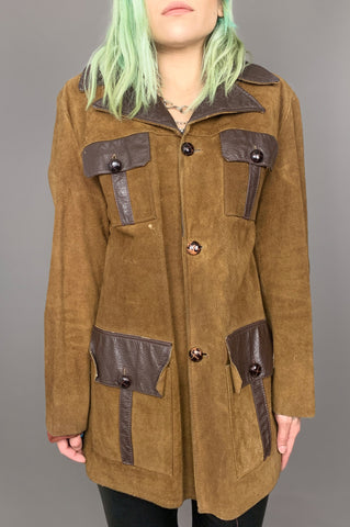 Wild & Free Suede Leather Rancher Jacket - One More Chance Vintage