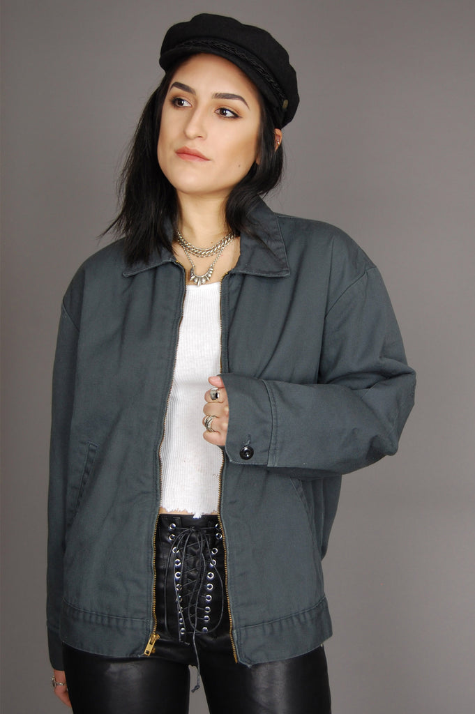 One More Chance Vintage - Vintage Push The Limit Dickies Work Jacket