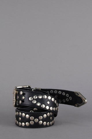 Hell Bound Diesel Studded Leather Belt