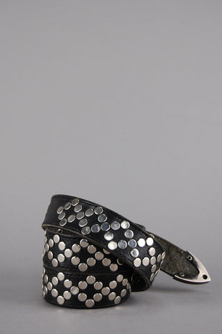 Born Wild Diesel Studded Leather Belt