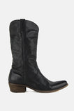 One More Chance Vintage - Vintage Frye Leather Pointed Cowgirl Boots