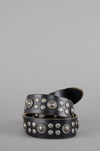 Bad As Me Genuine Studded Leather Belt