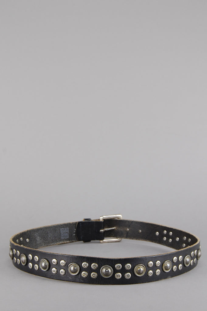 One More Chance Vintage - Vintage Bad As Me Genuine Studded Leather Belt