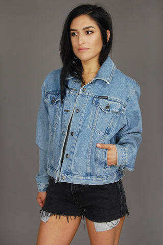 Harley Davidson Patched Denim Jacket