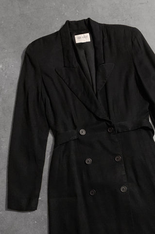 Work It Out Double Breasted Blazer Suit Dress - One More Chance Vintage