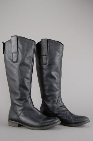 Glory Ride Knee High Leather Boots