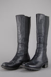 One More Chance Vintage - Vintage JFK Knee High Leather Chelsea Boots
