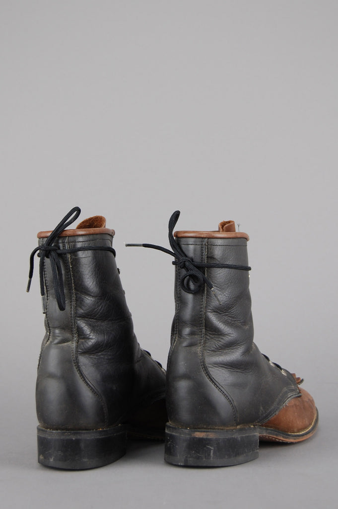 Laredo Two Tone Justin Distressed Leather Boots